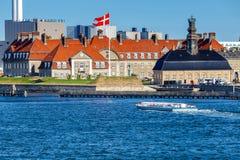 Copenhagen. The city embankment royalty free stock image