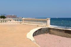 City embankment in Torrevieja Stock Image