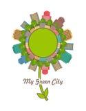 City emblem Stock Image