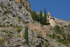 City embrun. View of the city embrun in the south of France stock images