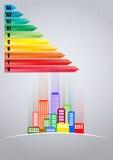 City energy efficiency Stock Photo