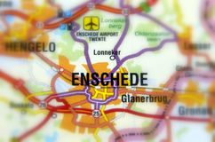 City of Enschede - Netherlands. Enschede a city in the eastern Netherlands in the province of Overijssel and in the Twente region stock photography