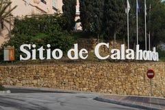 City entering Sitio de Calahonda - Spain Stock Photos