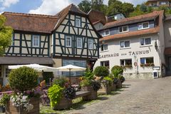 City Eppstein. Old town. Germany royalty free stock photo