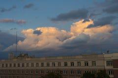 City evening Royalty Free Stock Image