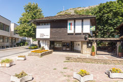 City Exhibition Hall in Lovech, Bulgaria stock images