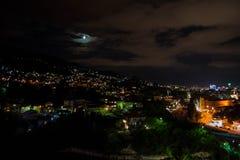 city exposure long night view στοκ εικόνες με δικαίωμα ελεύθερης χρήσης