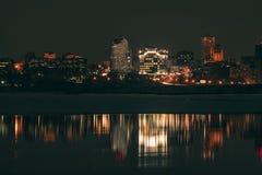 city exposure long night view Στοκ Φωτογραφία