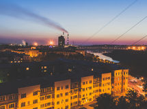 city exposure long night view Στοκ Εικόνες