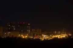 city exposure long night view Στοκ φωτογραφία με δικαίωμα ελεύθερης χρήσης