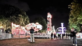 City Fair Time Lapse stock footage
