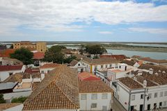 The City of Faro. Algarve. Portugal Stock Image
