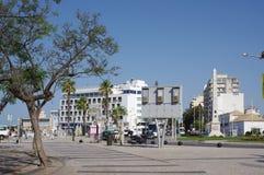 City of Faro in Portugal on Algarve coast Stock Image