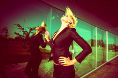City fashion Royalty Free Stock Images