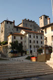 City of feltre. The medieval center in the city of feltre Stock Images