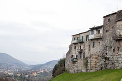 The city of Ferentino in Italy Royalty Free Stock Photography