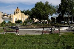 The city of Fergana. Uzbekistan Royalty Free Stock Images