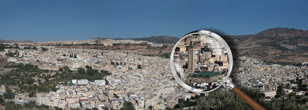 The city of Fes Stock Photo