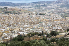 City of Fes in Morocco Stock Photos