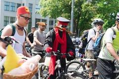 City festival bike ride Royalty Free Stock Image
