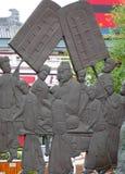City Figure sculpture Stock Photo