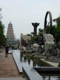 City Figure sculpture Royalty Free Stock Photos