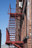 City Fire Escapes Stock Photography