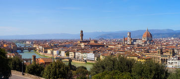 The City of Florence in Tuscany, Italy Royalty Free Stock Photography
