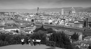The City of Florence in Tuscany, Italy Royalty Free Stock Photos
