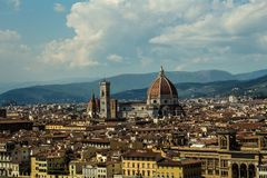 City of Florence royalty free stock images