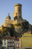 In the city of Foix Royalty Free Stock Photography
