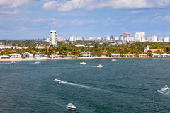 City of Fort Lauderdale, Florida Stock Images
