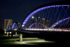 City Fort Worth night scenes TX Royalty Free Stock Photos