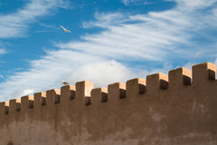 City fortification detail in Essaouira, Morocco Stock Photos