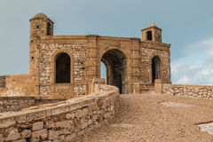 City fortification gate, Essaouira, Morocco Royalty Free Stock Photo