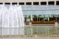 City fountain Stock Image