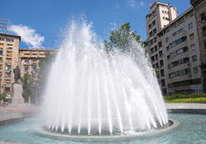 City fountain in Belgrade Downtown, Serbia Royalty Free Stock Image