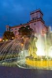 City fountain in Bielsko-Biala Stock Photography