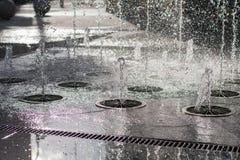 City fountain Stock Photo