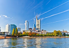 City of Frankfurt Royalty Free Stock Images