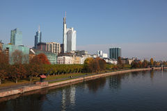 City of Frankfurt, Germany Stock Photography