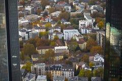 The City Frankfurt Germany Royalty Free Stock Photos