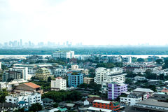 City. Full city bangkok in thailand Stock Photos