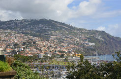 City of Funchal in Madeira, Portugal Stock Photo