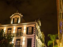 The portugese island of madeira. The City of funchal and the portugese Island of madeira Royalty Free Stock Photography