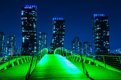 City of the Future Songdo Royalty Free Stock Photos