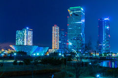 City of the Future Songdo Stock Photography