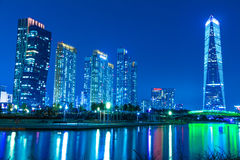 City of the Future Songdo Royalty Free Stock Photos