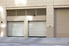 City Garage Royalty Free Stock Photography
