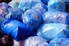 City Garbage Stock Images